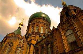 哈爾濱相親遊聖•索菲亞教堂